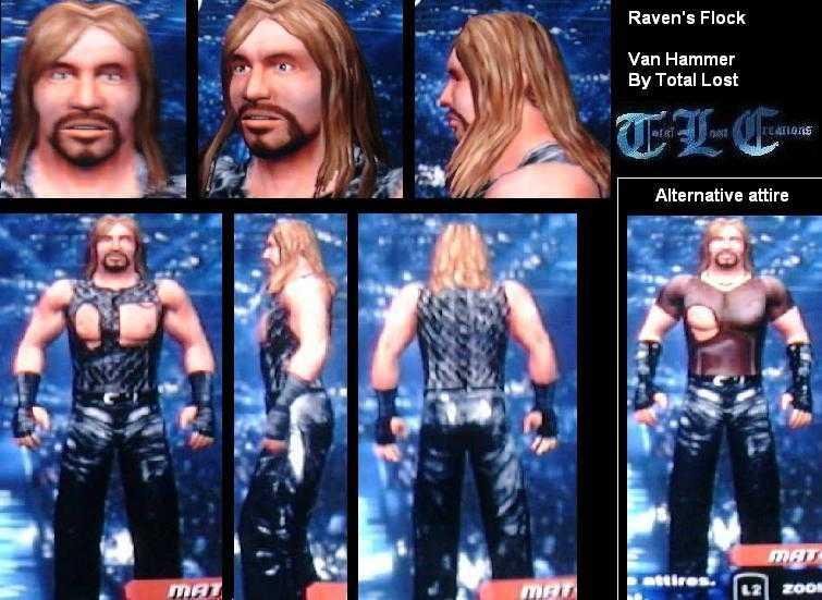 CAWs.ws Billy Kidman CAW for SmackDown! vs RAW