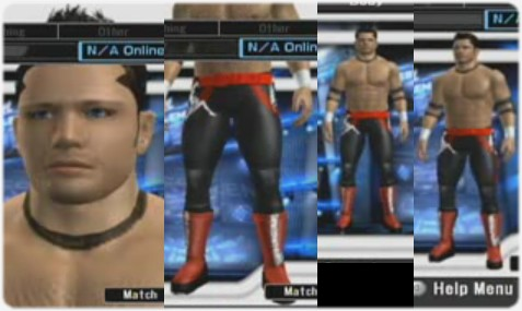 CAWs.ws Goldberg CAW for SD! vs RAW 2008